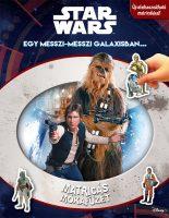 Könyv borító - Matricás mókafüzet: Star Wars
